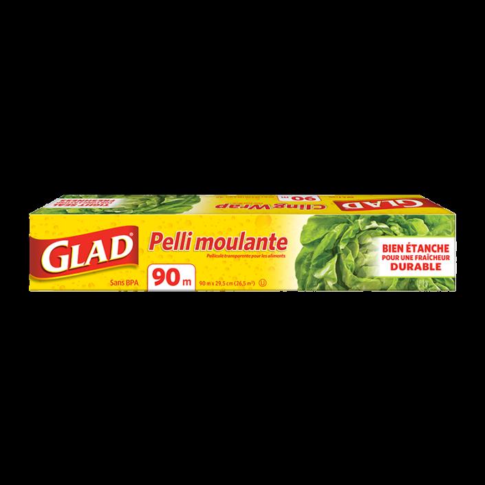 Pelli moulante Glad®, rouleau de 90 m