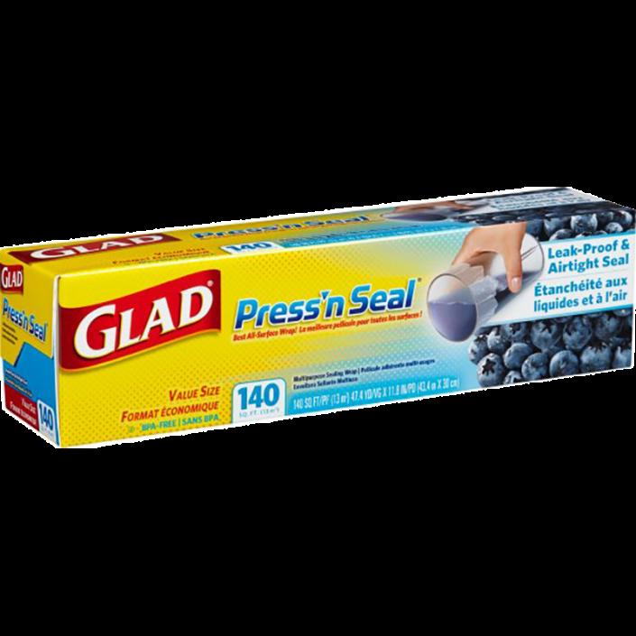 Pellicule Press'n Seal® de Glad®, rouleau de 140 pi2 (13 m2)