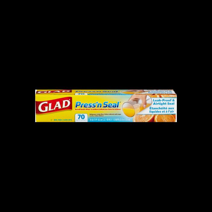 Pellicule Press'n Seal® de Glad®, rouleau de 70 pi2 (6,5 m2)