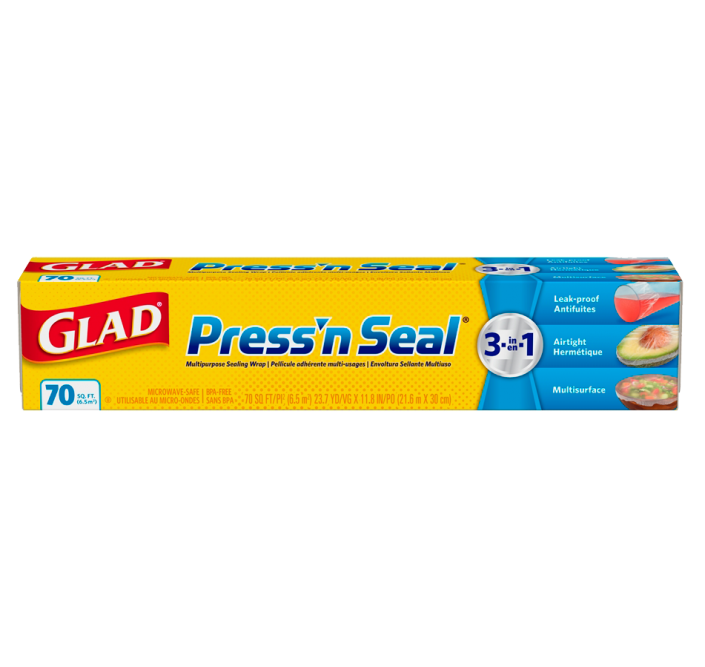 Pellicule Press'n Seal® de Glad, rouleau de 70 pi2 (6,5 m2)